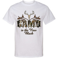 CAMO Is The NEW BLACK Screen Print T Shirt Camouflage Deer Hunt Southern Country Tee...Free Shipping!!