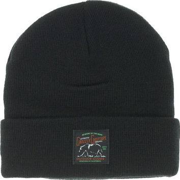 Grizzly Dark Woods Waterproof Beanie Black