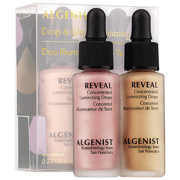 Sephora: Algenist : Drop & Glow Luminizing Duo : skin-care-sets-travel-value