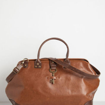 Boho Keystone State Weekend Bag in Whiskey Molasses by ModCloth