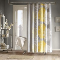 Counterpoint Fabric Shower Curtain (Grey)