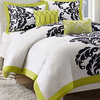 Mallorie 5 Piece Comforter and Duvet Cover Sets - Teen Bedding - Bed & Bath - Macy's