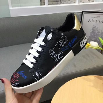 D&G Dolce&Gabbana Women Sneakers Sport Shoes