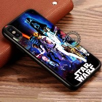 Star Wars Vintage Poster on Galaxy iPhone X 8 7 Plus 6s Cases Samsung Galaxy S8 Plus S7 edge NOTE 8 Covers #iphoneX #SamsungS8