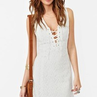 Benita Lace Dress in Clothes Dresses at Nasty Gal