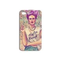 Cute Frida Kahlo Phone Case Cool Hipster Cover iPhone 4 4s 5 5s 5c 6 Plus + iPod