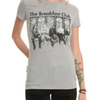 The Breakfast Club Character Symbols Girls T-Shirt