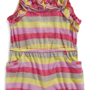 Splendid Stripe Romper (Toddler Girls)