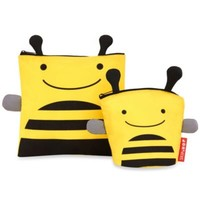 SKIP*HOP® Zoo Reusable Sandwich + Snack Bag Set in Bee