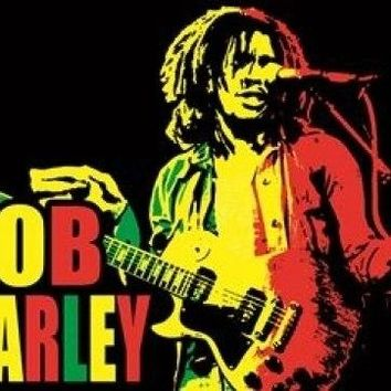 Black Light - Bob Marley Poster Print (23 X 35)