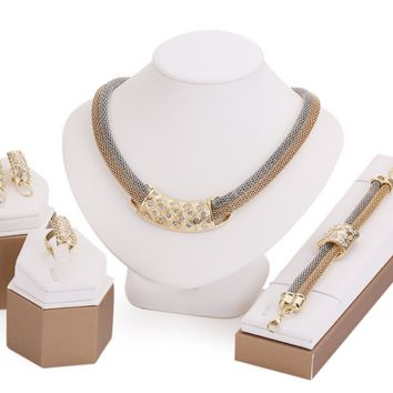 Trendy African inspired Jewelry Set