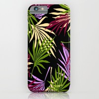 Jungle Black iPhone & iPod Case by ALLY COXON | Society6