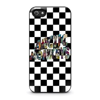 arctic monkeys iphone 5 5s se case cover  number 1
