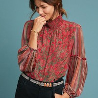 Mixed Motif Blouse