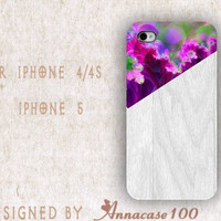 iphone case, i phone 4 4s 5 case, iphone4 iphone4s iphone5 case,stylish plastic rubber silicone cases cover purple pink floral