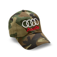 "Club Foreign Logo Hat ""Rings"" - Camo"