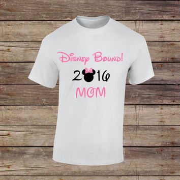 Disney family Shirt ~ Minnie Mouse Mom ~ Disney Trip ~ Adult Tee  ~ 12M, 18M, XS, S, M, L, XL, 2X, 3X ~ Mothers Day ~ Family Vacation