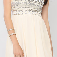Spangle Tube Top Dress