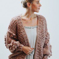 Bubble Sweater Part Two (Mauve)