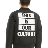 Fall Out Boy Boys Of Zummer This Is Our Culture Tour Bomber Jacket