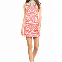 crown & ivy™ Printed Eyelet Dress - Belk.com