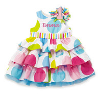 MUD PIE IM 1 BIRTHDAY DRESS