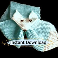 Fox Scarf Knitting Pattern by Toppytoppyknits
