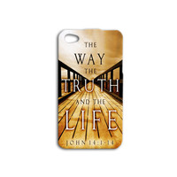 Cool Artistic Bible Verse iPhone Case Christian Quote Cute iPod Case iPhone 4 iPhone 5 iPhone 5s iPhone 4s iPhone 5c iPod 4 Case iPod 5 Case