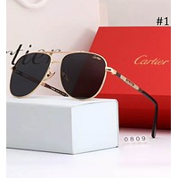 Cartier 2018 summer new men and women models wild fashion polarized sunglasses F-A-SDYJ #1