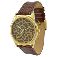 Leopard Pattern Watch (Lemon Tree)