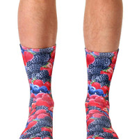 Berries Crew Socks