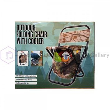 Outdoor Folding Chair With Cooler Bag GW322
