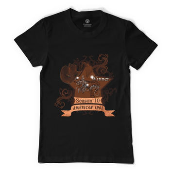 Scotty McCreery Country Style Season 10 Winner  01 Resized Women's T-shirt