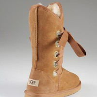 Day-First™ UGG: Bow tie shoes warm shoes