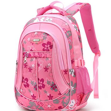 New Floral Printing Children School Bags Backpack For Teenage Girls Boys Teenagers Trendy kids Book Bag Student Satchel mochilas