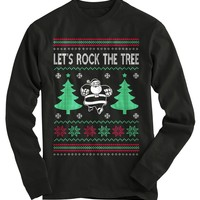 Rock The Tree Ugly Christmas Sweater
