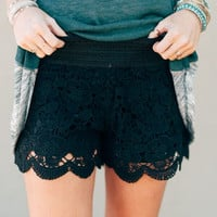 Moonlight Lace Shorts