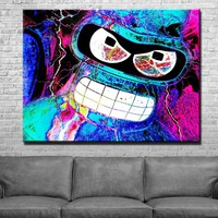 Abstract Bender Canvas Set