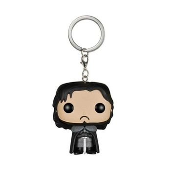 Game of Thrones Jon Snow The Song Of Ice And Fire Dragon Daenerys Targaryen Key Chain Action Figure Doll Toy With Retail Box