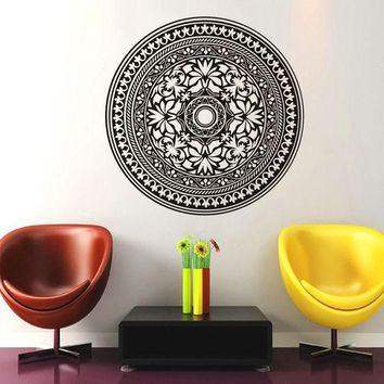 PEAPIX3 Waterproof Mandala Art Wall Sticker  [9357009988]
