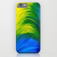 Feathers iPhone & iPod Case by Sierra Christy Art
