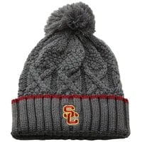 Nike USC Trojans Ladies Better Knit Beanie - Gray
