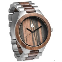 Sliver Stainless Walnut Chase
