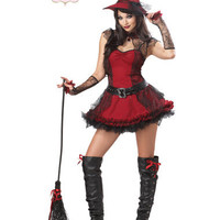Mischievous Witch Adult Women's Costume