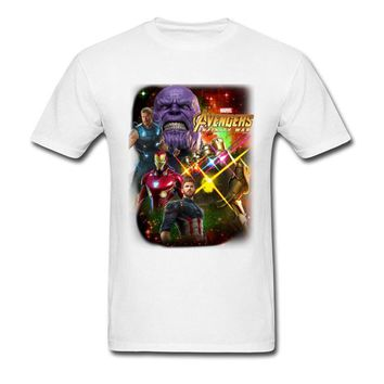 Deadpool Dead pool Taco Avengers T-Shirts  Thanos T Shirt 100% Natural Cotton Brands Clothing 90's Style Movie Gamer Tshirt Infinite World AT_70_6