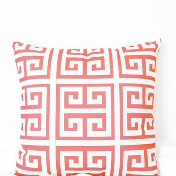 Square Spiral Printed Pillow Case