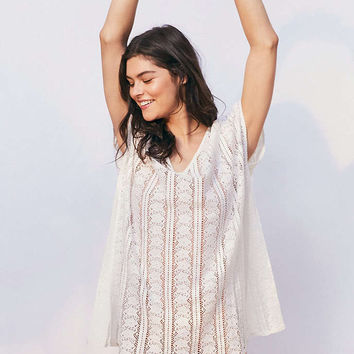 Out From Under Lace Caftan Cover-Up - Urban Outfitters