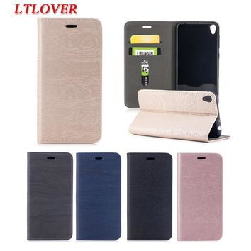For Asus ZB501KL Cover Luxury Retro Tree PU Flip Leather Case For ASUS Zenfone Live ZB501KL Cases Mobile Phone Shell Card Slots