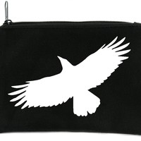 Mystical Raven Crow Cosmetic Makeup Bag Pouch Alternative Gothic Accessories