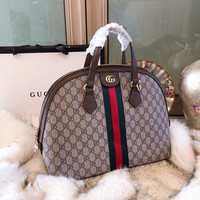 GUCCI Ophidia GG medium top handle bag